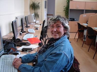 Una dissenyadora de joies al Telecentre