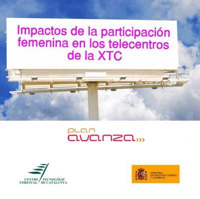 """Estudio de la brecha digital de género en las zonas rurales de Cataluña"""" , impulsado por el Ministerio de Indústria, Turismo y Comercio"""