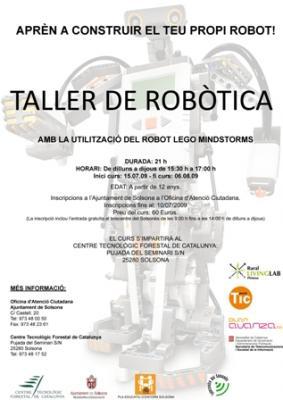 Curs de robòtica per a joves