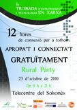 I RURAL PARTY al Punt Tic del Solsonès