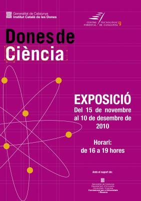 """EL CTFC ACULL L'EXPOSICIÓ """"DONES DE CIÈNCIA"""""""
