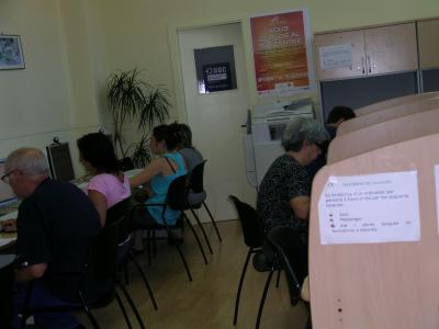 Acaben els cursos del programa Connecta't, d'alfabetització digital