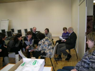 Reunió preparatòria de projectes Grundtvig entre el CTFC i el CASTIIS de Portugal