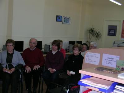 Vídeo als seniors del Telecentre del Solsonès