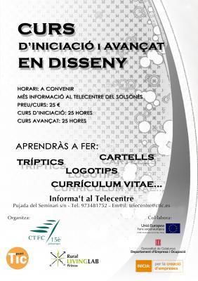 Cursos de Disseny al Punt TIC del Solsonès